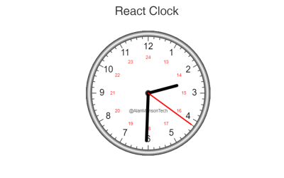 React Clock Component