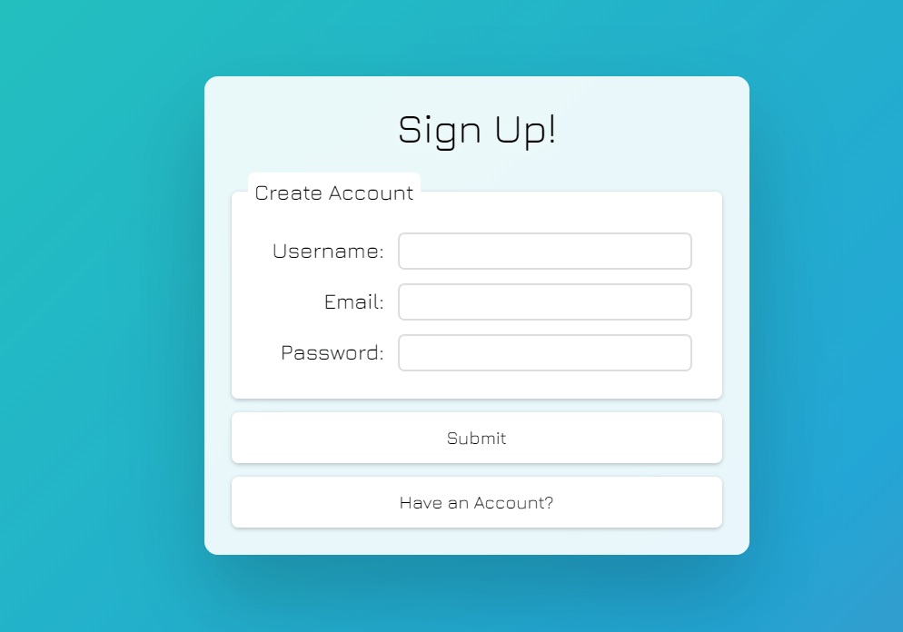 React Login Signup Form Design