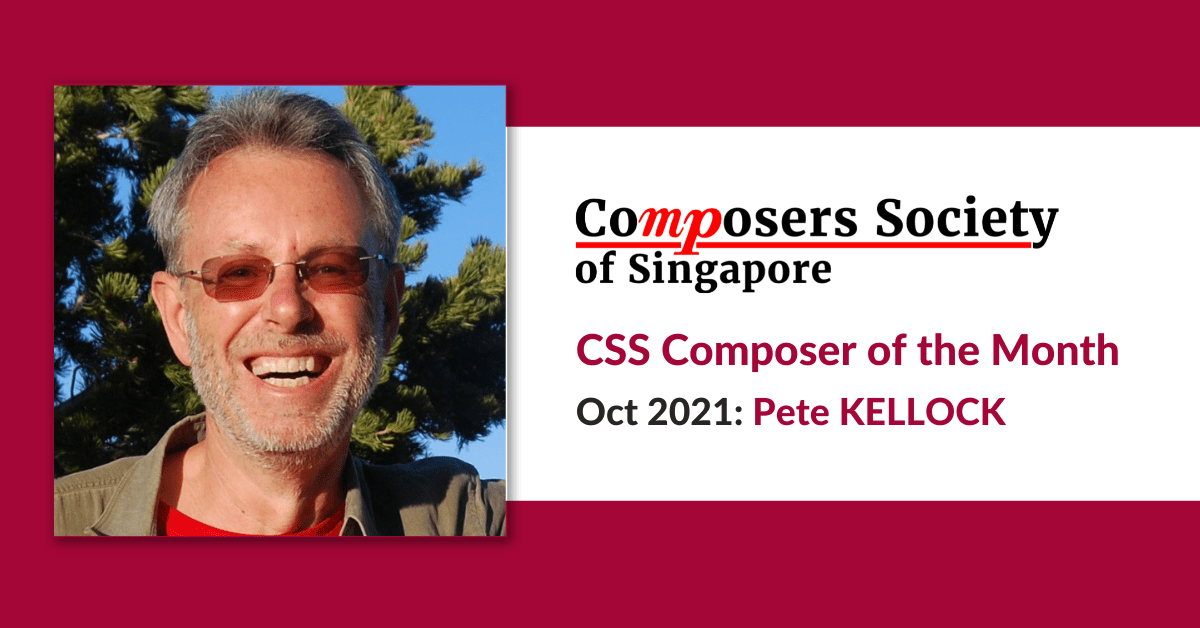 Composer of the Month for Oct: Pete KELLOCK