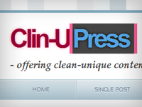 Free HTML5/CSS3 WordPress Theme – Clin-UPress