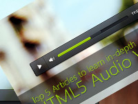 Top 5 Articles on HTML5 Audio Video