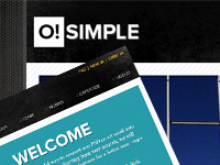 O Simple – Free Website PSD Template