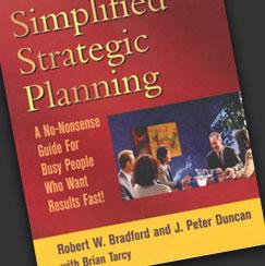 Simplified Strategic Planning Book