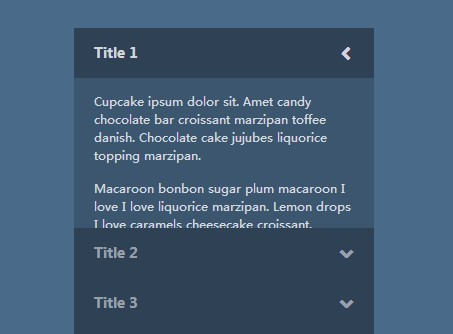 Creating A Stylish Accordion Menu with Pure CSS