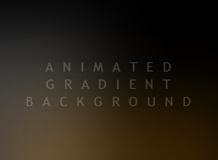 Animated Gradient Background with Pure CSS