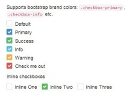 Pretty Checkbox & Radio Inputs with Bootstrap and awesome-bootstrap-checkbox.css