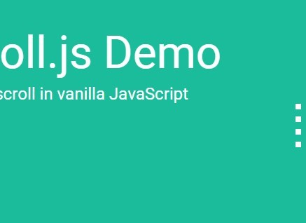 Basic One Page Scroll In Vanilla JavaScript - LeScroll | CSS