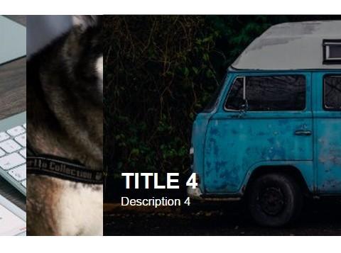 Pure CSS Horizontal Responsive Image Accordion Slider