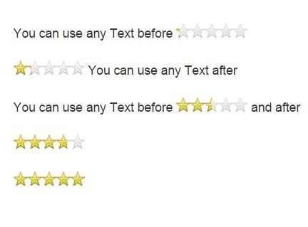 Pure JavaScript Star Rating Library – JavaScript-Rating