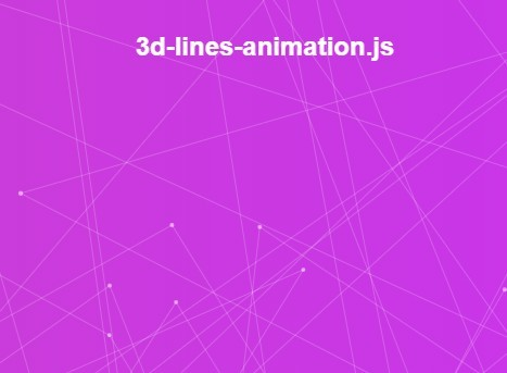Creating A 3D Interactive Lines Animation with Three js and Canvas