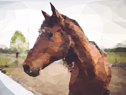 Generating Low Poly Style Images and Videos with Polyvia.js