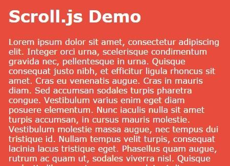 Scroll.js