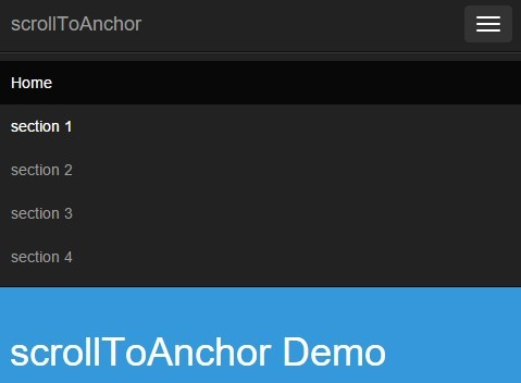 Smooth Anchor Page Scrolling Effect with Pure JavaScript – scrollToAnchor