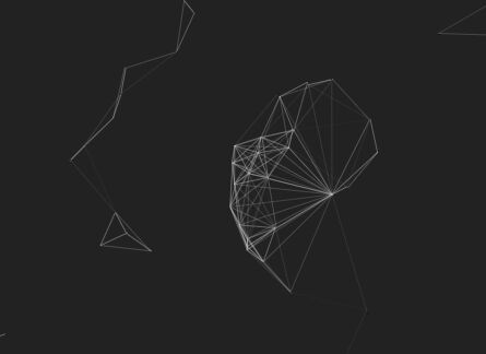 Interactive Particle / Nest System With JavaScript and Canvas – canvas-nest.js