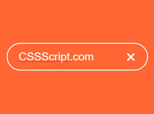 Fullscreen Morphing Search Field With JavaScript And CSS3