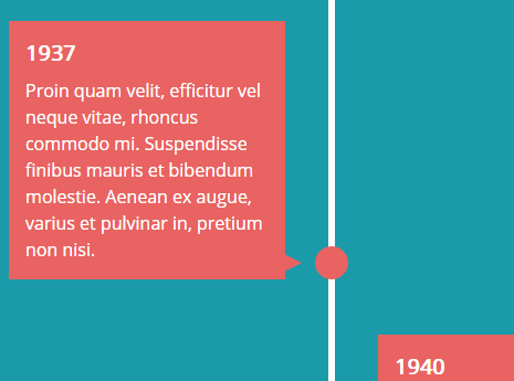 Responsive Animated Timeline With JavaScript And CSS3 | CSS