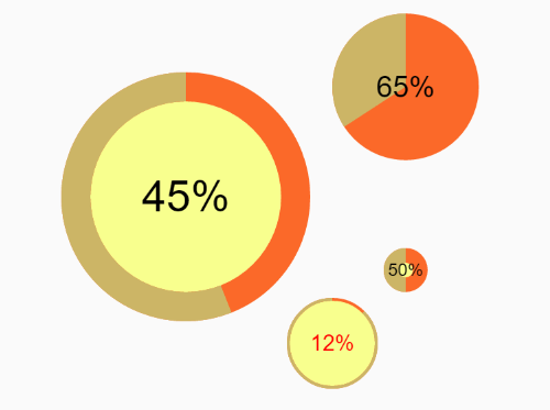 Radial Progress Bar With JavaScript And HTML5 Canvas