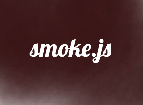 Interactive Smoke Effect With JavaScript and Canvas - smoke