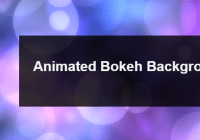 animated-bokeh-background