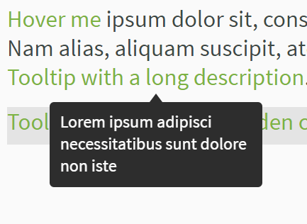 Tiny Smart Tooltips In Pure JavaScript And CSS3