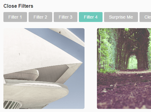 Filtering A Group Of Elements Using CSS Classes – vanilla-filters