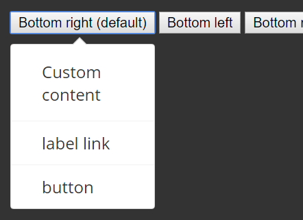 Accessible Custom Dropdown Menu – dropmic