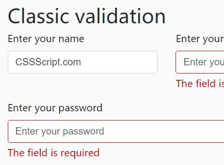 Just-validate