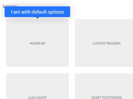 Lightweight AJAX-Enabled Tooltip Library – drooltip.js