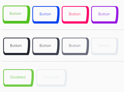 Pretty Cool CSS Buttons Library - Buttons | CSS Script