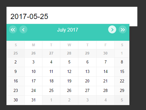 Infinite Scrolling Date Picker UI With Pure JavaScript | CSS