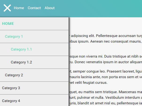 Sliding Drawer Navigation In Pure JavaScript – Drawerr.js
