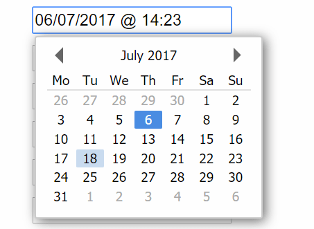 Highly Configurable Date Time Picker With Pure JavaScript   CSS Script