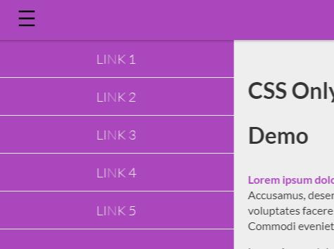 Best Free push menu In JavaScript & CSS - CSS Script