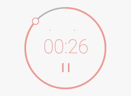 Circular Countdown Timer In JavaScript And CSS3