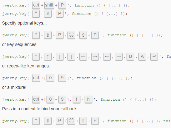 Handling Keyboard Events With JavaScript – jwerty.js