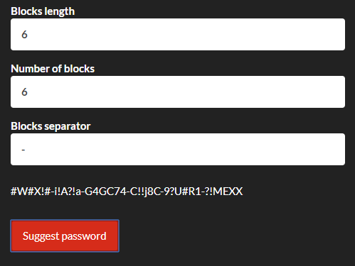 Security Password Generator With JavaScript