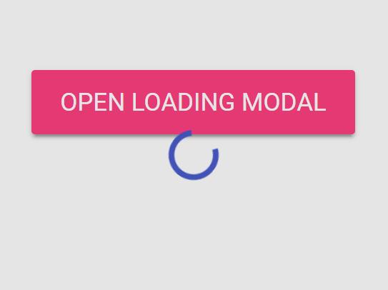 Basic Loading Screen For Material Design Lite – material-loading