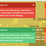 Pretty Notification JavaScript Library – noticejs