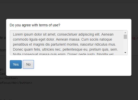 HTML5 Dialog Element Polyfill