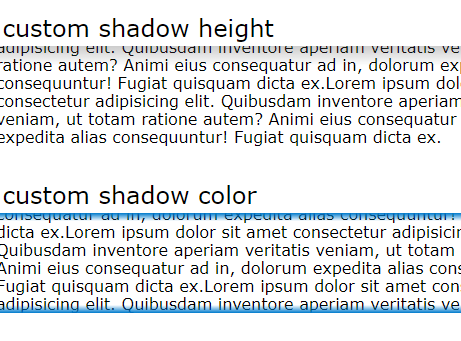 Add Shadow To Boundary Of Scrollable Element – ScrollShadow