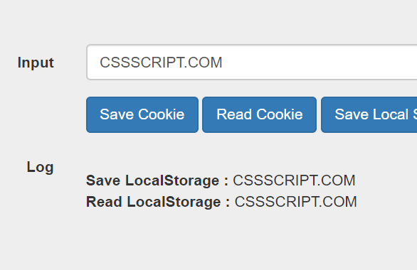 Manipulating Cookies & Local Storage With cookies-localstorage.js Library