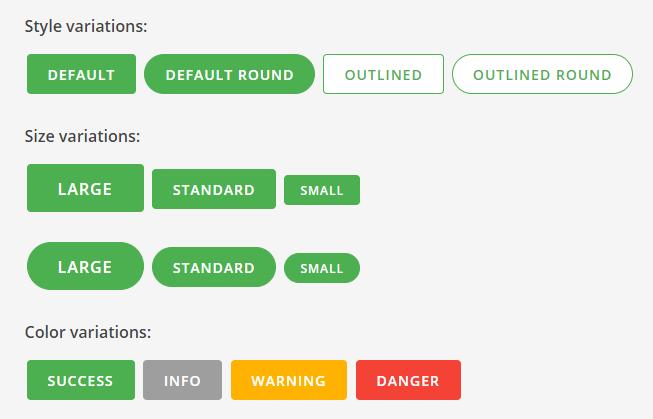 Mustard UI Buttons