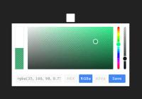 Elegant Mobile-compatible Color Picker Component-min