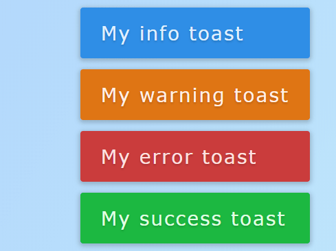 Sliding Toast Notification Plugin With Pure JS – Toasteo