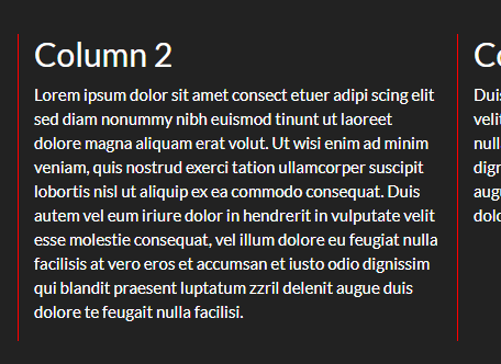 Equal Height Borders For Bootstrap Columns