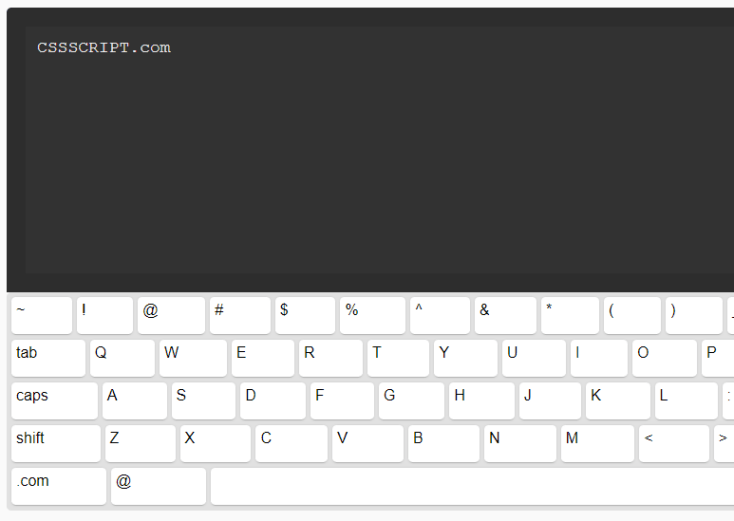 Responsive Mobile-compatible Virtual Keyboard In JavaScript – simple-keyboard