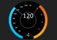 Tesla Style Speedometer In JavaScript - teslahud.js-min