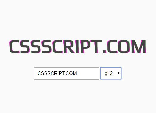 Glitch Effects In CSS/CSS3 – Glitch.css