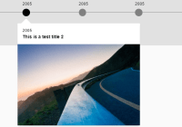 Responsive Interactive Timeline In Vanilla JavaScript - Simple Timeline