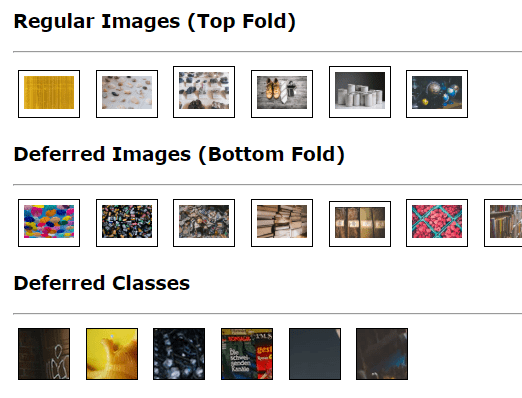 Defer Loading Of Images And CSS Classes & Styles Using JavaScript – safe-defer.js